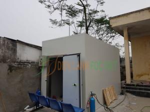 Lắp đặt kho lạnh bảo quản rác thải y tế tỉnh Phú Thọ
